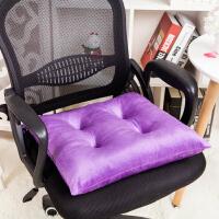 加厚椅子坐垫靠垫一体办公室座垫靠背餐椅垫学生软垫子冬季屁股垫2