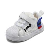 男孩小童软底鞋小白鞋板鞋1-3岁宝宝透气鞋子婴儿学步鞋