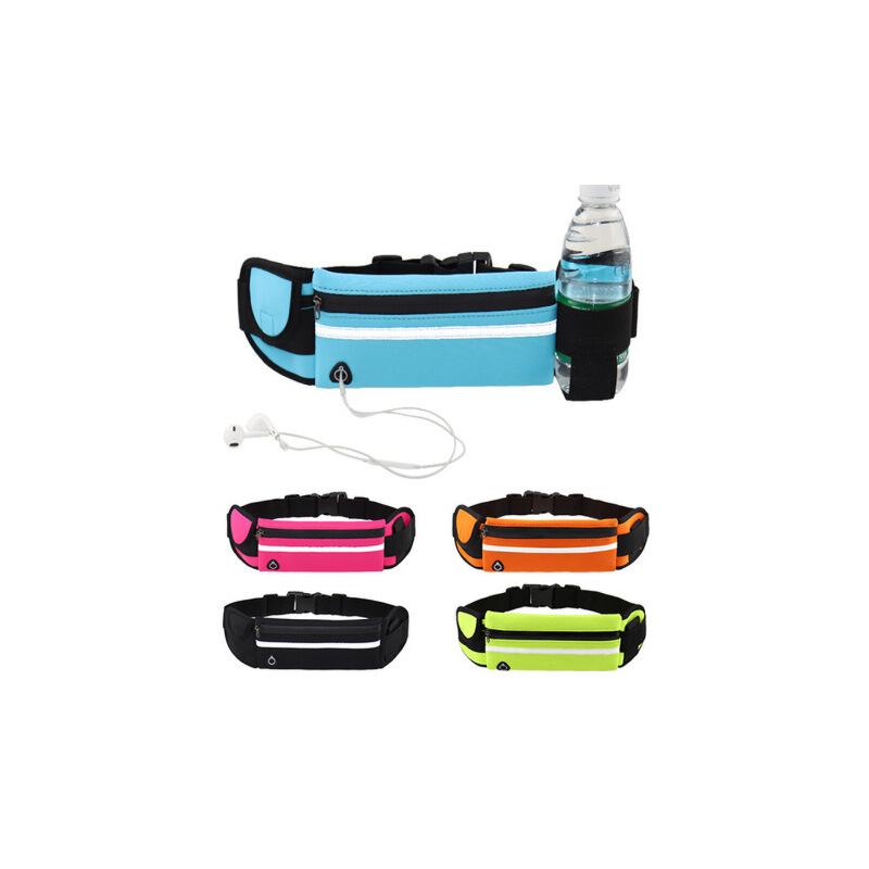 户外运动腰包防水多功能跑步战术隐形水壶腰包