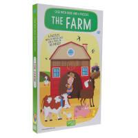 英文原版THE FARM农场 儿童绘本