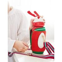儿童保温杯女带吸管两用316不锈钢壶小学生幼儿园便携水杯子