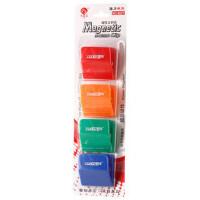 白板带夹子磁吸 磁粒磁扣磁石磁夹 带磁铁夹子