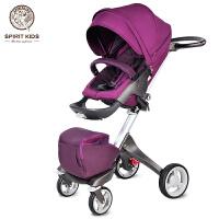 婴儿推车高景观婴儿车手推车可坐可躺 折叠双向儿童宝宝推车