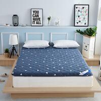 羊毛床垫褥子全棉床褥垫被加厚1.8米1.5m单双人学生床垫定制