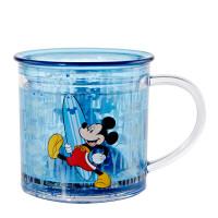 经典卡通系列儿童塑料水杯双层家居带手柄创意杯子 米奇 250ml