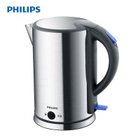飞利浦(PHILIPS)电水壶 热水壶 304不锈钢1.7L 保温功能 防干烧 烧水壶 HD9319/21