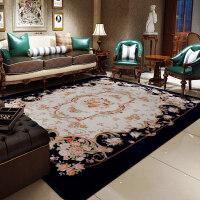 地毯客厅欧式茶几 红地毯毛毯卧室床前地毡家用结婚新中式