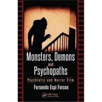 预订Monsters, Demons and Psychopaths:Psychiatry and Horror Fil