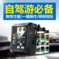 车载充气泵汽车打气泵车用电动轮胎充气泵打气泵双缸12v便携式