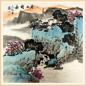北京工艺美术出版社主编副社长 贾德江(春山雅居) ZH315
