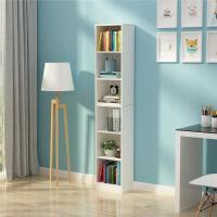 简易书柜学生书架实木儿童书柜简约经济型落地置物架定制书架窄柜