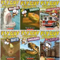 英文原版儿童书读物 Fly Guy Presents 苍蝇小子系列 科普分级读物 13本套装
