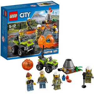 [当当自营]LEGO 乐高 City城市系列 火山入门套装 积木拼插儿童益智玩具60120