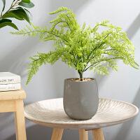 北欧仿真植物小盆栽摆件现代简约客厅室内装饰品绿植摆设假花盆景