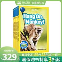顺丰发货 National Geographic KIDS Pre-Readers 24册 美国国家地理 儿童科普分级阅读读物 启蒙认知百科 科普绘本 英文原版图画书 动物世界