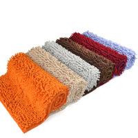高档超细纤维长毛雪尼尔地垫 浴室吸水防滑垫40*60cm