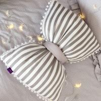 2019新品抱枕被子两用蝴蝶结沙发靠枕床上北欧INS网红款床头靠垫抱枕毯