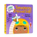小鸟与航天工程Baby Loves Aerospace Engineering!英文原版Baby Loves Scie