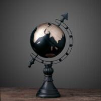 欧式复古软装家居装饰品 地球仪摆件书房办公室桌面摆饰商务礼品抖音 地球仪