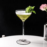 日式鸡尾酒杯 马天尼杯玛格丽特杯 水晶玻璃高脚杯