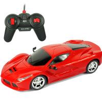 27厘米1:16超大电动遥控车儿童玩具车摇控汽车男生玩具厂家批发 法 红