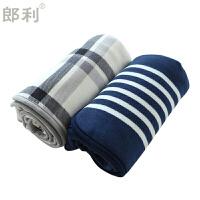 法兰绒毯子办公室午睡毯单人沙发毯盖腿小毛毯午休披肩加厚盖毯定制