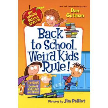 【预订】Back to School, Weird Kids Rule! 预订商品,需要1-3个月发货,非质量问题不接受退换货。