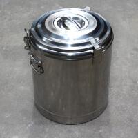 【新品热卖】加厚304不锈钢保温桶密封双层保温饭桶粥桶茶水桶汤桶豆浆桶保冷