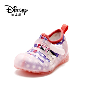 【达芙妮超品日 2件3折】迪士尼童鞋网布拼接百搭舒适女童儿童休闲鞋