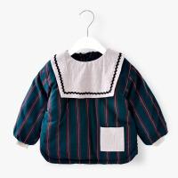 儿童棉罩衣冬款男孩夹棉加厚棉袄服外套女宝宝加棉反穿衣MYZQ38