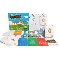 [当当自营]智象拼音卡 汉语拼音小学生一年级益智卡片 学习声韵母 幼儿园教具 儿童闪卡 认知学习卡片5-7岁