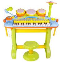 欧锐 敲琴电子琴架子鼓麦克风卡拉OK功放儿童玩具乐器6659