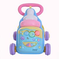 婴儿童学步车多功能防侧翻助步车6/7-18个月1岁宝宝手推车玩具车zf04 蓝色