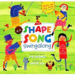 Shape Song Swingalong (A Barefoot Singalong)形状歌(廖彩杏推荐)(书+CD