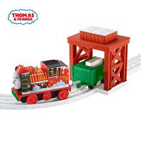 托马斯电动火车之雪地大冒险轨道套装儿童玩具男孩礼物