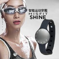 美国Misfit Shine 智能手环 纽扣式运动追踪器 减肥健身睡眠监测计步器 防水蓝牙智能手环手表 iOS安卓苹果手机iPhone6 Plus/5S iPad Air mini三星小米通用