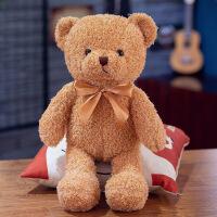六一儿童节520泰迪熊抱抱熊抱枕小熊公仔布娃娃小号毛绒玩具送女生生日礼物女友