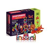 麦格弗儿童磁力片套组宝宝早教磁性积木玩具3岁+ 智能套组 144片