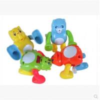 翻跟头的玩具 儿童发条翻跟头卡通玩具翻滚上链翻跟斗宝宝玩具后空翻旋转