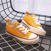 【儿童节限时多件多折:59.7元】回力童鞋旗舰店儿童帆布鞋女童布鞋2020春新款男童鞋子小白鞋板鞋