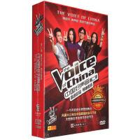 中国好声音第二季DVD 盲选阶段导师考核 8DVD高清正版车载dvd碟片