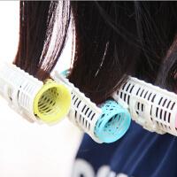 大号自然睡觉卷韩国简妆卷发夹卷发器 外贸盘发器3枚装