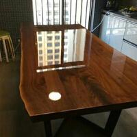 大理石茶几台面保护膜 硅胶膜透明防刮实木餐桌子茶几大理石桌面保护膜家居贴膜A 透明