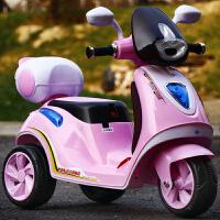 儿童电动摩托车宝宝三轮车男女小孩充电玩具车遥控可坐人电瓶童车 升级早教粉双驱动大电机+超大 电瓶+遥控+彩灯