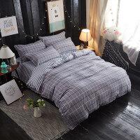 网红四件套床上用品被套宿舍1.2m米单人学生床单三件套3寝室被子4