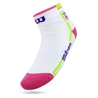 威尔胜(Wlison)网球袜子 羽毛球运动袜棉女袜 加厚毛巾袜