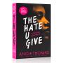 你给的仇恨 电影原著小说书籍 黑暗中的星光 The Hate U Give 英文原版 Angie Thomas安吉托马斯黑人女孩版无声告白 学生课外阅读