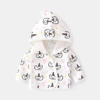 婴儿衣服春秋洋气男新生幼儿童装小童上衣秋季女宝宝外套秋装