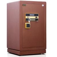 虎牌金锐二代3C电子密码锁保险柜/保险箱 自动报警全钢制造家用办公虎牌新品人气款 FDG-A1/D-80红水纹