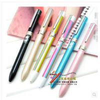 uni日本三菱时尚超顺滑三色圆珠笔 多色笔 多功能笔 SXE3-601